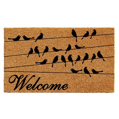 Reddick Bird Welcome Doormat