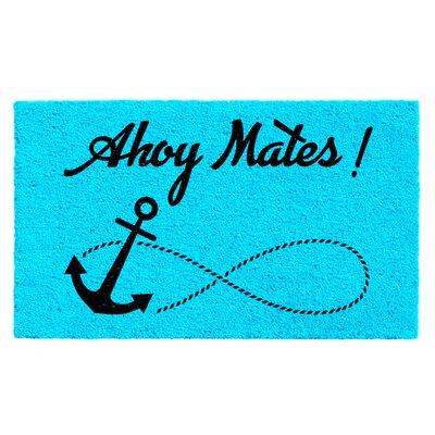 DeRuyter Ahoy Mates Doormat