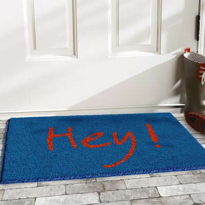 Tillia Hey Doormat Color: Blue/Orange