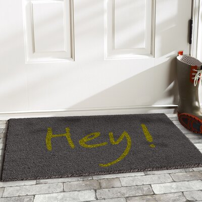 Tillia Hey Doormat Color: Gray/Green