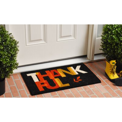 Rael Thankful Doormat
