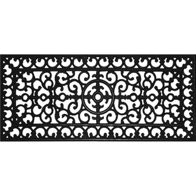 Winchcombe Fleur De Lis Doormat Mat Size: Rectangle 15 x 35
