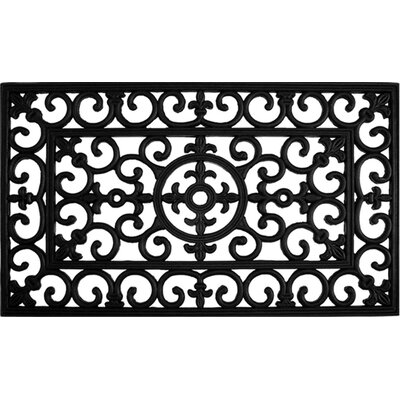 Winchcombe Fleur De Lis Doormat Rug Size: Rectangle 16 x 26