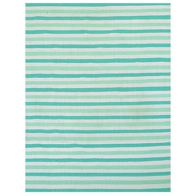 Green Indoor/Outdoor Area Rug Rug Size: 8 x 11