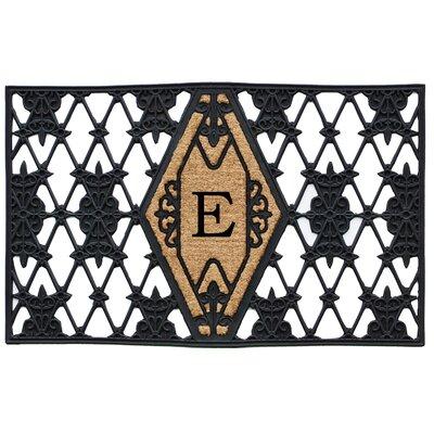 Monogram Doormat Letter: E