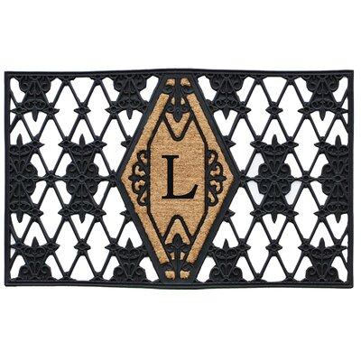 Monogram Doormat Letter: L