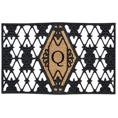 Monogram Doormat Letter: Q