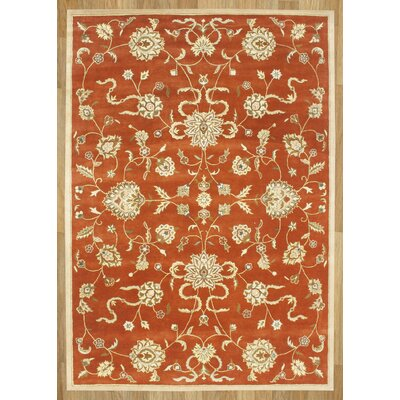 Alliyah Rusty Orange Area Rug Rug Size: 9' x 12'