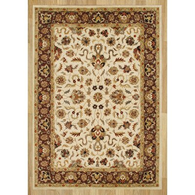 Alliyah Taj Mahal Vanilla Area Rug Rug Size: 9 x 12