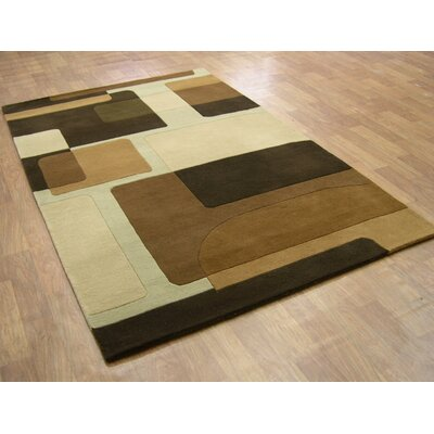 Alliyah Dark Brown Area Rug