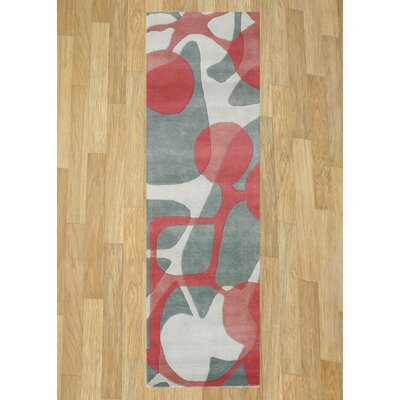Alliyah Watermelon Area Rug