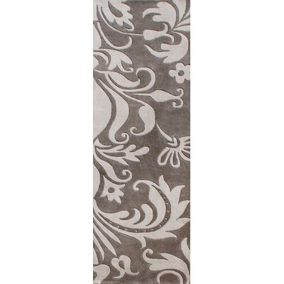 Alliyah Sabrina Grey Area Rug Rug Size: Runner 2 x 8