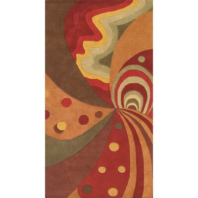 Alliyah Metro Classic Brown Area Rug