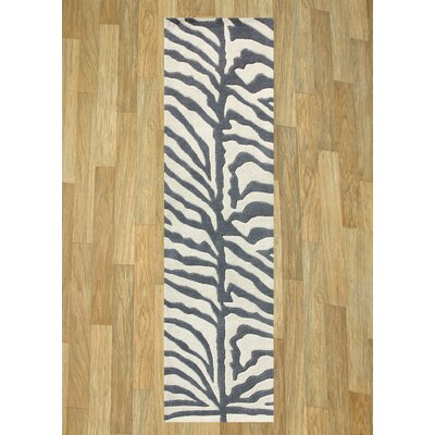 Alliyah Grey Area Rug Rug Size: Runner 2 x 8