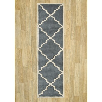 Alliyah Bluish Grey Area Rug