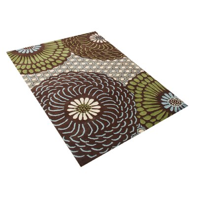 Alliyah Fair Brown Area Rug
