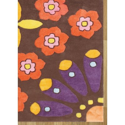 Alliyah Choco Brown Area Rug