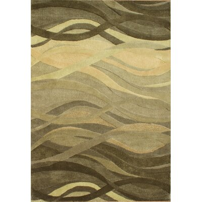 Alliyah Green Area Rug Rug Size: Rectangle 5 x 8