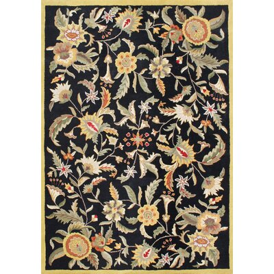 Alliyah New Black Area Rug