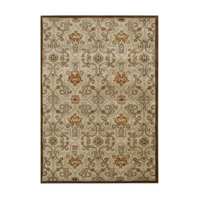 Alliyah Sugar Brown Area Rug