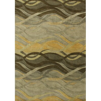 Alliyah Green Area Rug Rug Size: Rectangle 10 x 12