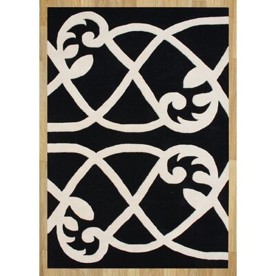 Alliyah Jet Black Area Rug