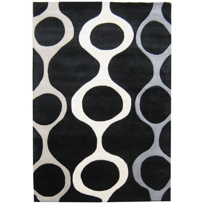 Alliyah Black Area Rug