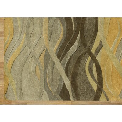 Alliyah Green Area Rug Rug Size: 9 x 12