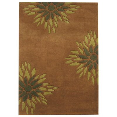 Alliyah Brown Area Rug