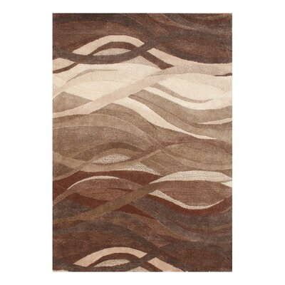 Alliyah Tobacco Brown Area Rug Rug Size: 8 x 10