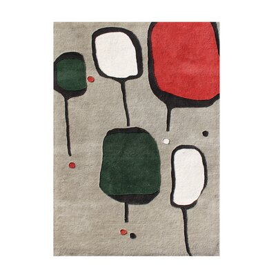 Alliyah Morn Gray Area Rug