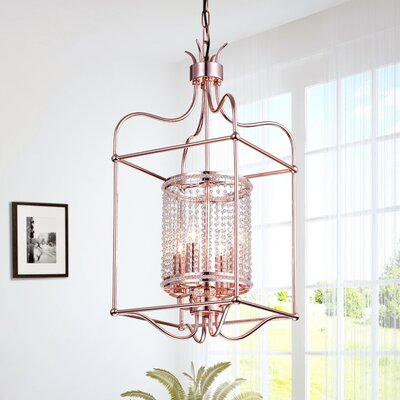 Brock Hill 4-Light Geometric Pendant
