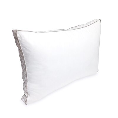 Laundry Printed Gusset Polyfill Queen Pillow