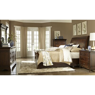 Duffy Sleigh Customizable Bedroom Set