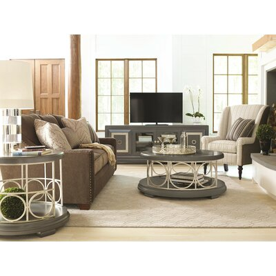 Superbe Legacy Classic Furniture Tower Suite Coffee Table Set 5011 401 / 5010 401  LCF3207