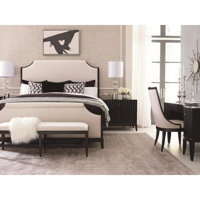 Bonif�cio Upholstered Panel Configurable Bedroom Set