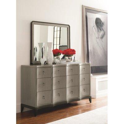 Symphony 9 Drawer Dresser with Mirror