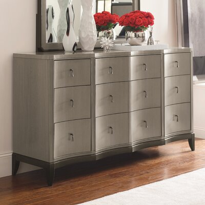 Jessenia 9 Drawer Standard Dresser