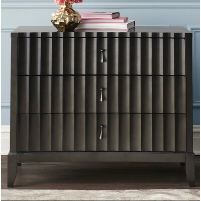 Symphony 3 Drawer Nightstand