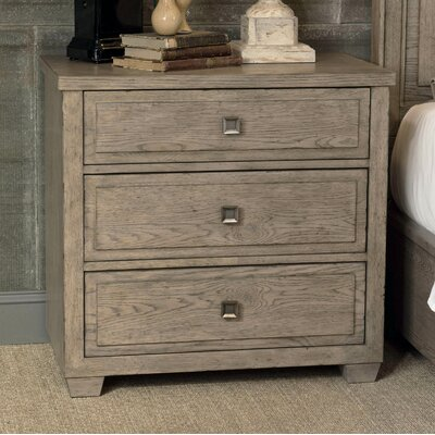 Amina 3 Drawer Nightstand