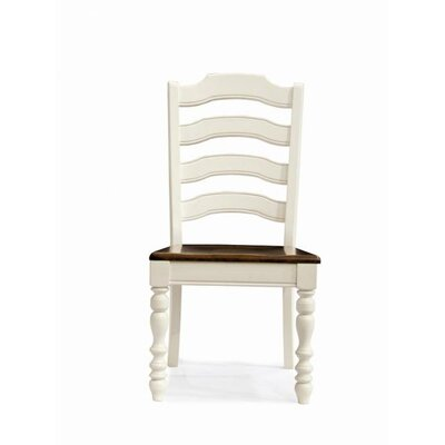 Low Price Legacy Classic Furniture Concord Side Chair (Set of 2) Finish: Burnished White / Cherry