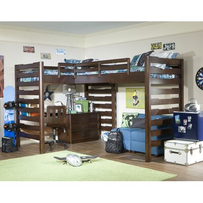 Furniture Solutions on Legacy Classic Furniture Solutions L Shaped Loft Bed With Work