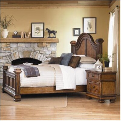Easy financing Larkspur Panel Bed...