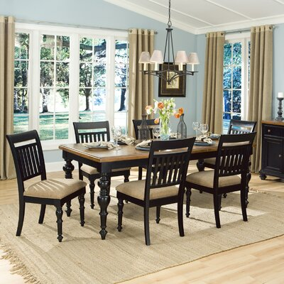 Legacy classic furniture highland hills rectangular leg for Legacy classic dining table
