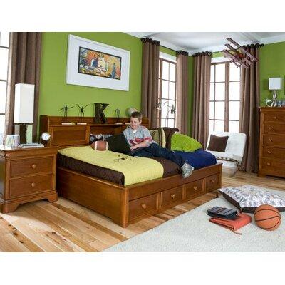 Cheap Cinnamon Two Drawer Lounge Storage Bed (LCF1807)