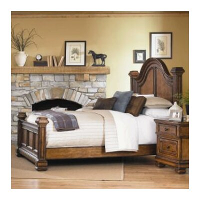Low Price Legacy Classic Furniture Larkspur Low Poster Panel Bedroom ...
