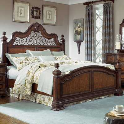 Superior Low Price Legacy Classic Furniture Royal Traditions Panel Bedroom Collection