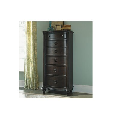 Legacy Classic Furniture 1521-2300 Glen Cove 6 Lingerie Chest in Espresso