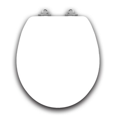 Art of Acryl White Slow Close Round Toilet Seat