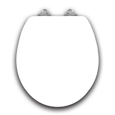 Art of Acryl White Slow Close Round Toilet Seat